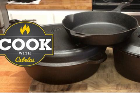 Cast iron skillet & dutch oven