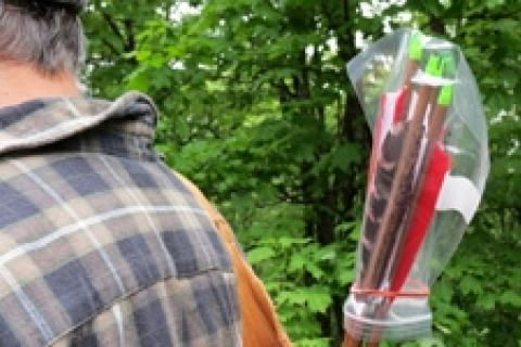 News & Tips: Traditional Archery: Keeping Your Feathers Dry...