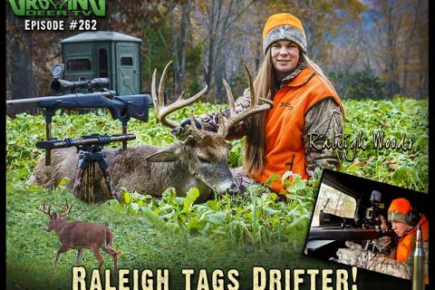 "News & Tips: Deer Hunting: The Hard to Pattern Buck ""Drifter"" at 206 Yards (video)..."