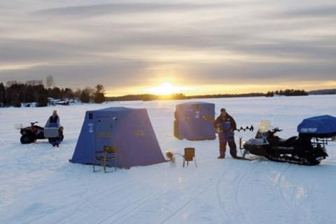 Choosing a Portable Ice Shelter | Bass Pro Shops