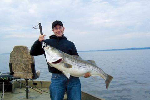 News & Tips: Fishing Tactics for Winter Freshwater Stripers: Plus Lure Choices...