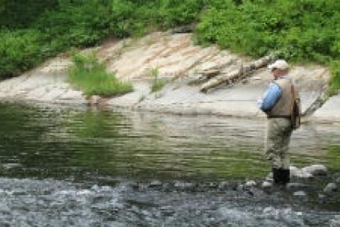 News & Tips: Wade Fishing Safely