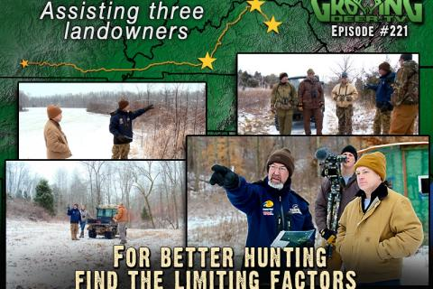 News & Tips: How To Have Better Deer Hunting: Define The Stress Points...