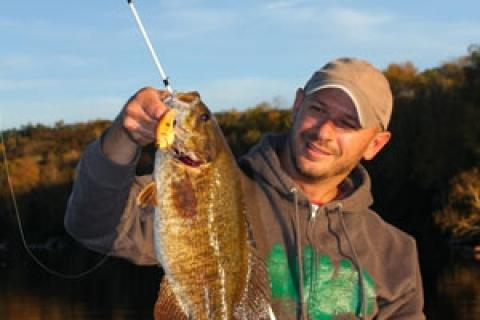 News & Tips: 5 Proven Baits Sure to Hook Fall Smallmouth Bass...
