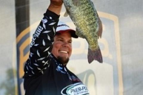 Chris Lane with a St Clair Smallie by Chris Lane with a St Clair Smallie...