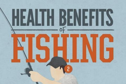 News & Tips: Health Benefits of Fishing (infographic)...
