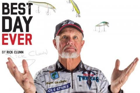 News & Tips: Bassmaster Classic Winner Rick Clunn Recounts His Best Fishing Day Ever...