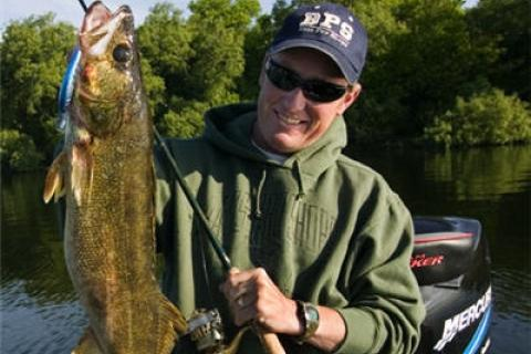 "News & Tips: Fishing River Walleye In The ""Dog Days"" Of Summer..."
