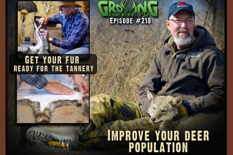 News & Tips: Trapping Special & Preparing For Future Deer Seasons...