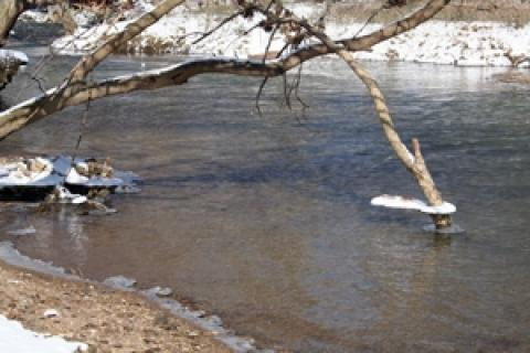 News & Tips: Respect Ice-Covered Waterways While Hiking...