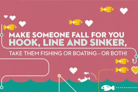 News & Tips: Make Someone Fall for You Hook, Line & Sinker (infographic)...