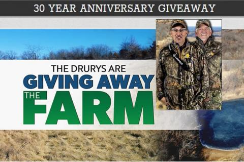 News & Tips: The Drury's Are Giving Away the Farm and YOU Could Win It! (video)...