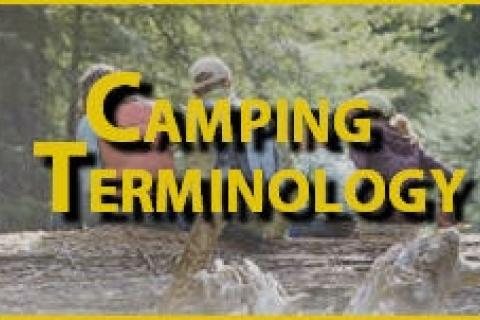 News & Tips: Camping Terminology