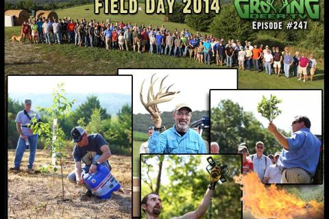 News & Tips: Grow and Harvest Mature Bucks: Everything We Do At Field Day 2014...