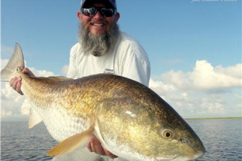 News & Tips: Travel Blog: Guess What? You Can Catch Monster Bull Redfish in Early Fall. Here's How....