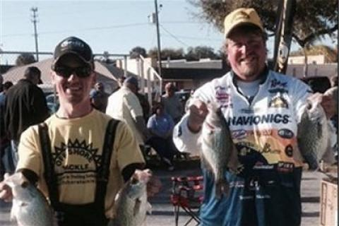 News & Tips: Skarlis and Steinfeldt Take Crappie Masters 2nd Place Using New Technique...