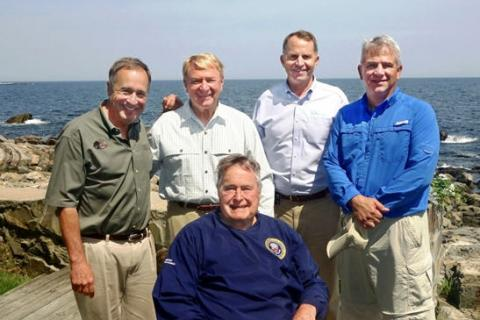 News & Tips: Fishing Buddies, Conservationist Gather to Honor President George H. Bush...