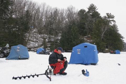 News & Tips: Anglers, Start Your Augers, It's Ice Fishing Time (video)...
