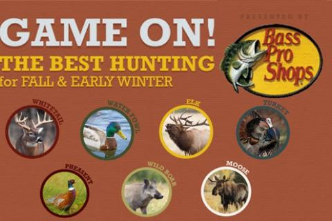 News & Tips: The Best Hunting States for Fall & Early Winter (infographic)...