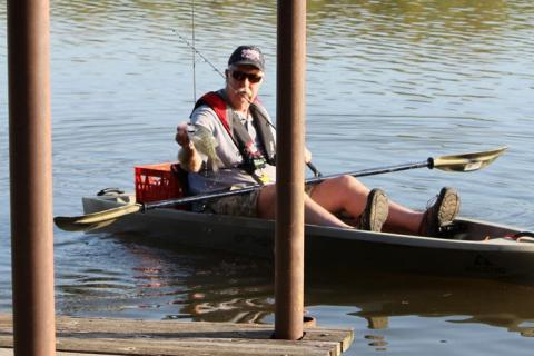 The Perfect Spring Fishing Trio: From a Kayak, To Docks, For