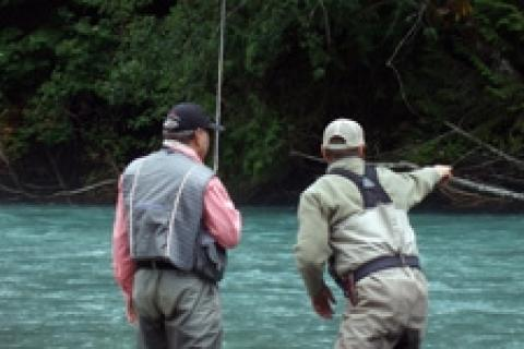 News & Tips: Travel Blog: Pitt River Lodge Fishing Adventures...