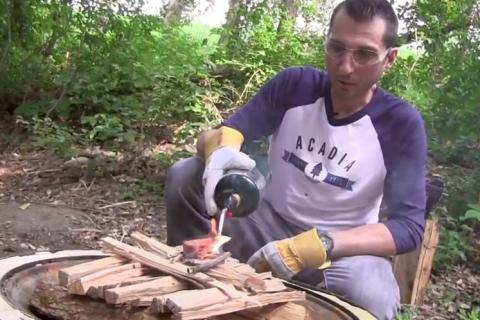 News & Tips: Camping: 10 Easy Steps to Making an Upside Down Fire (video)...