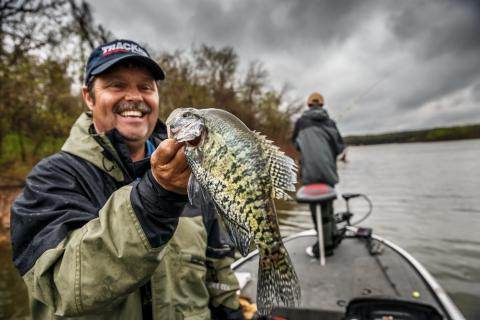 News & Tips: Fishing for Wintertime Slabs