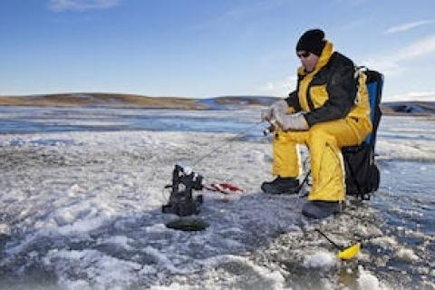 News & Tips: What to Do if You Fall Through the Ice...