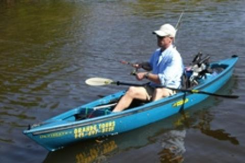 News & Tips: Kayak Fishing at Grande Tours