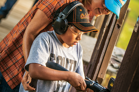 Best plinking targets and teaching kids to shoot