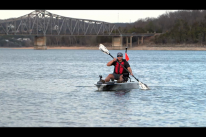 1Source Video: This is YakPower on the Ascend 128T Kayak