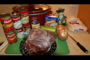1Source Video: Venison Neck Roast in a Crock Pot