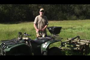 1Source Video: Semi-permanent Food Plots Using an ATV to Sow the Seeds