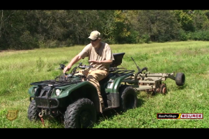 1Source Video: Semi - Permanent Food Plots using an ATV break the soil 2 of 5