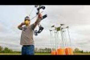 1Source Video: Gould Brothers: Archery Trick Shots Compound Bow