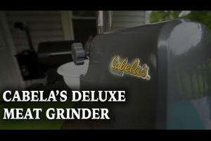 Cabela's Heavy-Duty Grinder Review