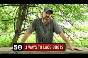 1Source Video: 3 Ways to Lace Hiking Boots to Relieve Foot Pain