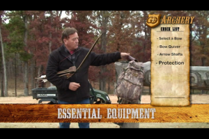1Source Video: Byron Ferguson Talks Equipment for Barebow Hunting