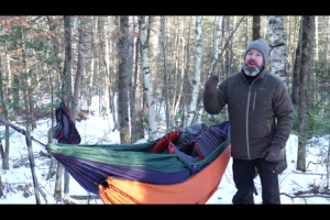 1Source Video: Winter Hammocking in Really Cold Weather