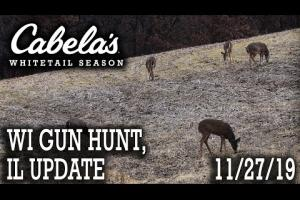 Wisconsin Whitetail hunt and Illinois Update