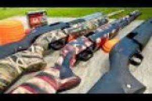 1Source Video: Gould Brothers Tricks: Pump-Action Shotgun | Combo Shots