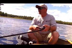 1Source Video: Control Your Canoe With Your Fishing Rod