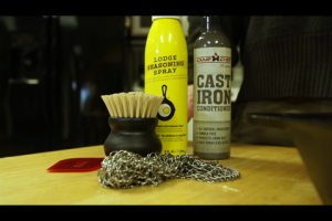 1Source Video: How to Clean and Maintain Cast Iron Cookware