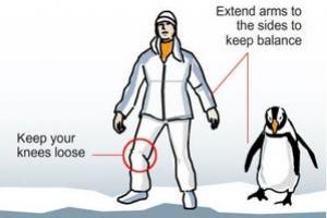 News & Tips: Four Tips for Walking on Snow and Ice