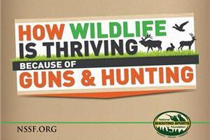 News & Tips: How Wildlife is Thriving Because of Guns & Hunting (infographic)...