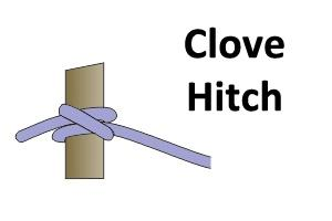 News & Tips: Rope Knot Library: How to Tie the Clove Hitch Rope Knot...