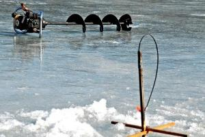 News & Tips: Ice Fishing: Finding Spots to Drill a Hole...
