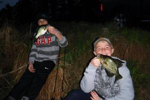 Braggin' Board Photo: Last Hour Of Light Crappies
