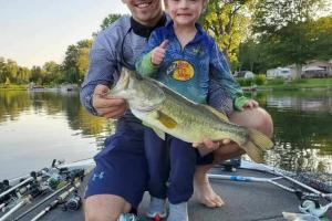 Braggin' Board Photo: Camden's big bass fish