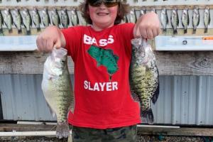 Jake and his wall of crappie